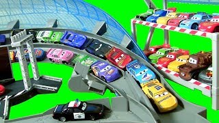 BIGGEST CARS 3 Track SET! Ultimate Florida Speedway Track Playset DisneyPixarCars3 Motorized Booster