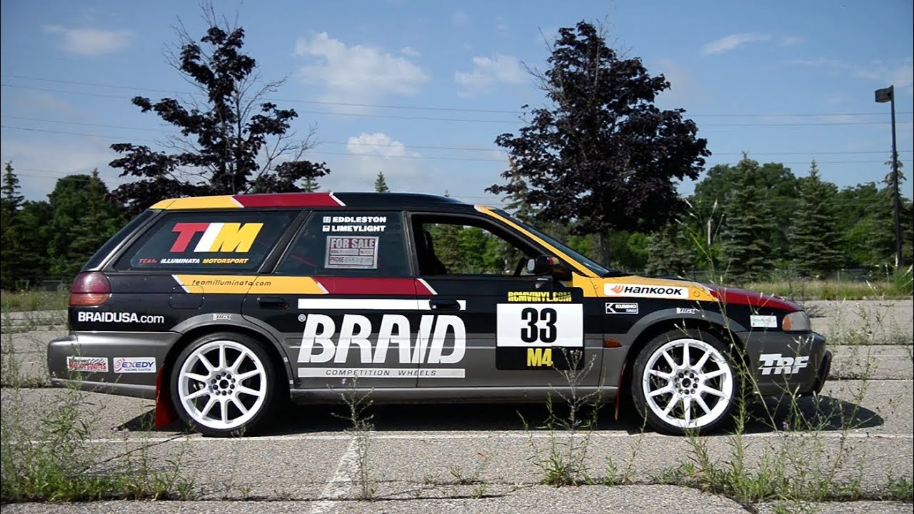 1997 Subaru Outback H 6 Swapped Quot Rallycross Wagon Quot Wr Tv