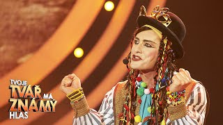 """Petr Vondráček jako Boy George – """"Karma Chameleon""""   Tvoje tvář má známý hlas"""