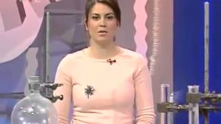 Woman Fainting on Live Tv