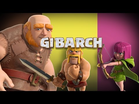 Clash of Clans: The GIBARCH Strategy!