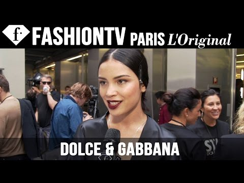 Dolce & Gabbana Backstage Part 1 | Milan Fashion Week Spring/Summer 2015 | FashionTV