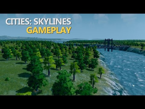 Cities: Skylines - Building Little Harbor (Gameplay)