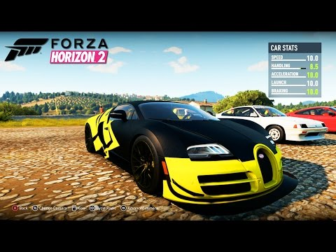 forza horizon 2 bugatti veyron ss hyper car forza horizon 2 campaign episode 6. Black Bedroom Furniture Sets. Home Design Ideas
