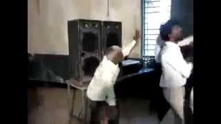 Indian old man funny dance in India