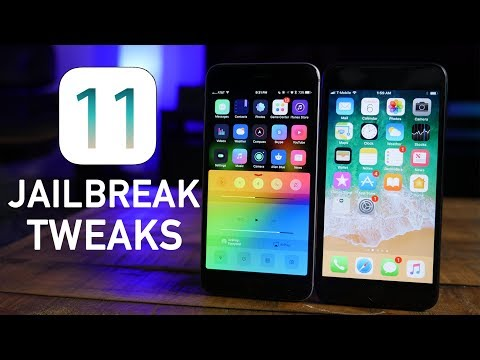 Jailbreak Tweaks in iOS 11!