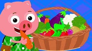 rau bài hát   vườn ươm vần điệu   Vegetables Songs   Preschool Vietnam   nhac thieu nhi hay nhất