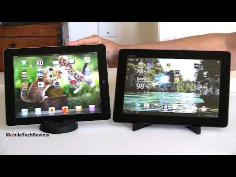 New iPad vs. Asus Transformer Pad Infinity TF700 Comparison Smackdown