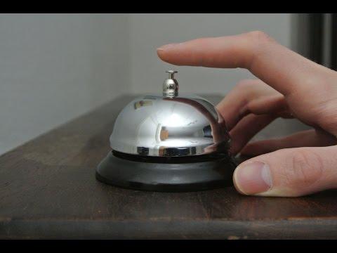 Service bell hotel bell restaurant bell stereo sound effect HQ 96kHz