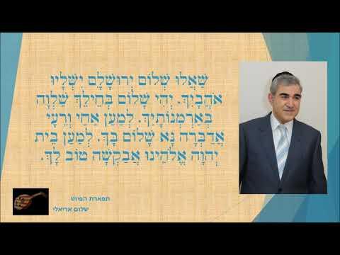 שאלו שלום ירושלים המוסיקאי משה חבושה מיוחד   1992