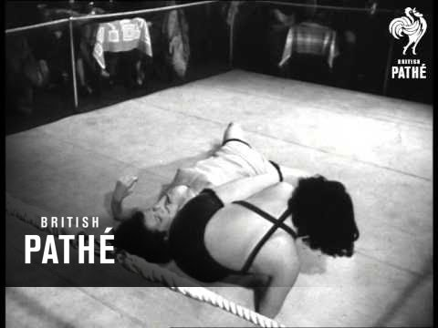 Vintage mixed wrestling