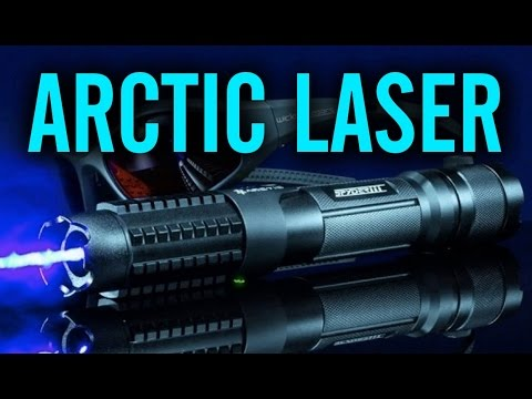 Wicked Lasers Spyder 3 Arctic 2 Watt 445nm Laser Pointer Review