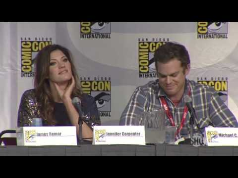 Dexter -Michael C. Hall-  interview at Comic-Con