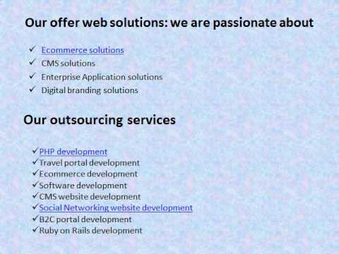 Cost Effective Outsourcing Web Development Services For Online Projects