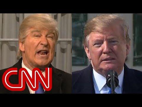 Trump threatens SNL with retribution over parody