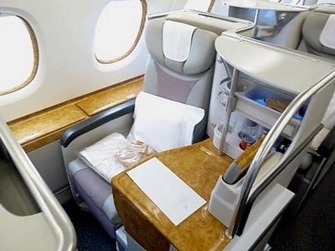 DUBAI HERE I COME !  (BUSINESS CLASS A380 EMIRATES)