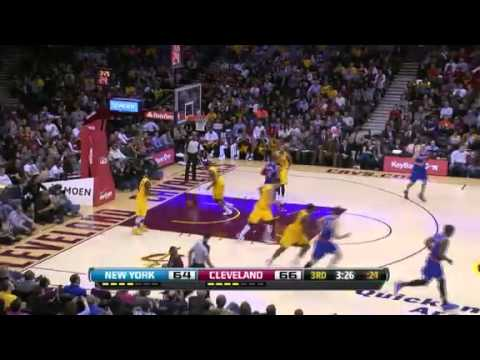 NBA CIRCLE - New York Knicks Vs Cleveland Cavaliers Highlights 4 March 2013 www.nbacircle.com