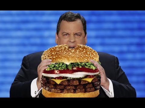 Chris Christie Fetches McDonald's For Trump