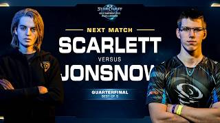 Scarlett vs JonSnow ZvZ - WCS Challenger 2018 Season 1 – North America