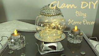 Dollar Tree DIY Glam Mirror Cloche