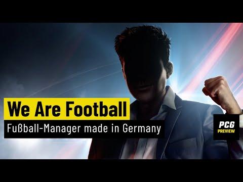 We Are Football | PREVIEW | Der neue Fußball-Manager der Anstoß-Entwickler