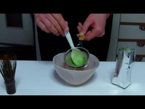 とても簡単な抹茶の点て方 / お薄の作り方