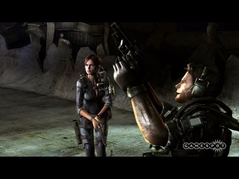 Resident Evil: Revelations - Boss Battle Gameplay (Wii U)