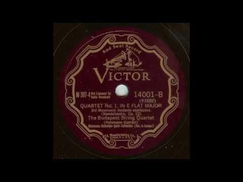 Феликс Мендельсон - Квартет op.12