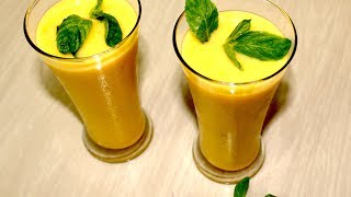 Mango Milk Shake | Ramadan Special Juice| Iftar recipe|Bangladeshi mango milkshake