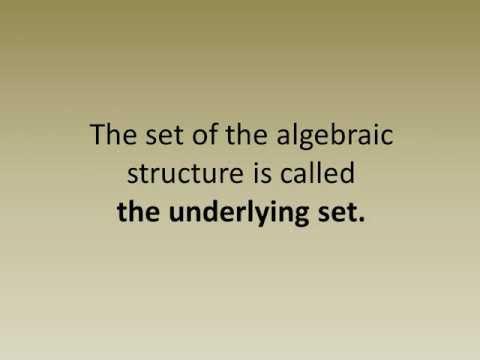 Header of algebraic structure