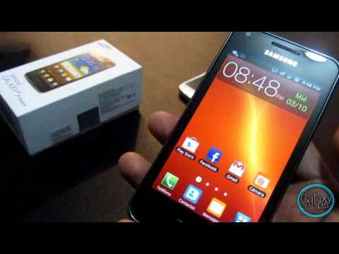 Unboxing & Review Samsung Galaxy S Advance i9070 (Español Mx)