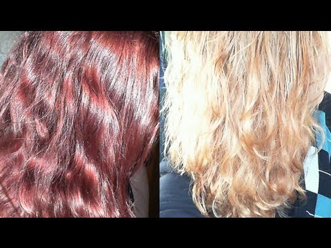 Jo Baz Colour Remover Review Red To Blonde Get Rid Of