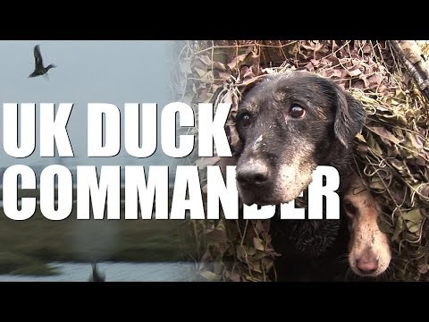 UK Duck Commander: wildfowling on the Kent Marshes