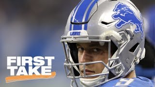 Stephen A. Smith has problem with Matthew Stafford's extension with Lions | First Take | ESPN