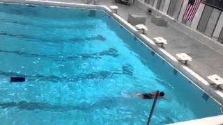 Yash swimming