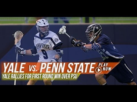 Yale vs. Penn State | 2013 Lax.com College Highlights