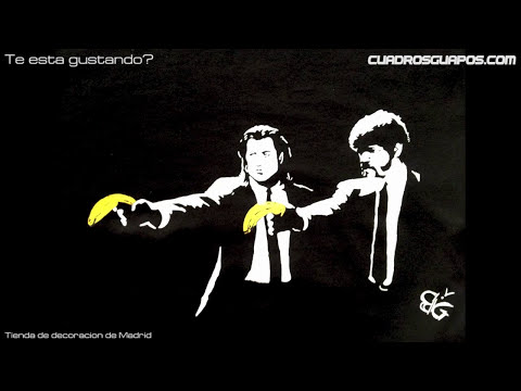 Cuadros Guapos - Paseo por grafitis de Banksy