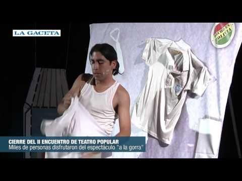 Cierre del II Encuentro de Teatro Popular y Latinamericano