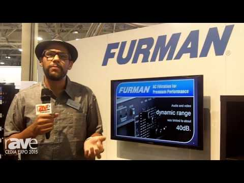 CEDIA 2015: Furman Explains Its Power Conditioners for Sound and SMP Protection