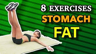 8 Best Exercises To Shrink Stomach Fat Fast