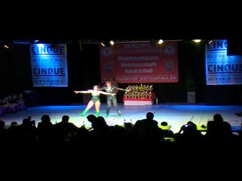 Anja Vierle & Michael Miller - Oberbayerische Meisterschaft 2012