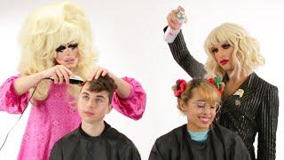 Download Lagu Trixie And Katya Give People Haircuts Gratis STAFABAND