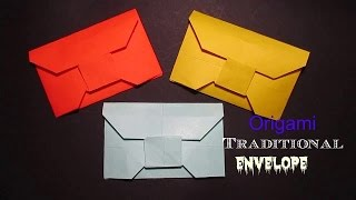 Origami Envelope - Traditional Origami Envelope Easy
