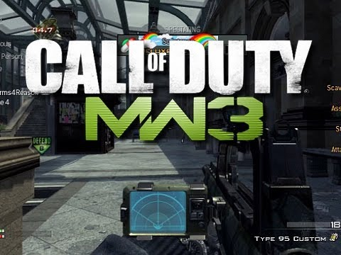 MW3 Camper Commentary #11 - KYR SP33DY and Deluxe 4 (Funny MW3 Gameplay Moments)