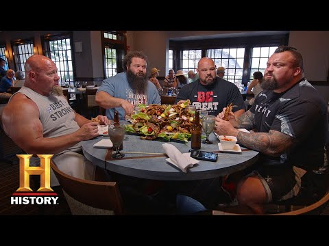 THE STRONGEST MEN IN HISTORY39S 10,000 CALORIE DIET  History