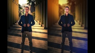 Photoshop Tutorial : Blur Background and Soft Light Effect