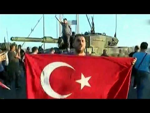 Попытка государственного переворота в Турции: хроника событий.