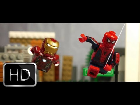 Spider-Man Homecoming Trailer in LEGO