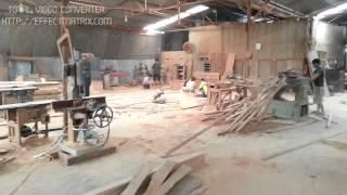 Xưởng sản xuất nội thất gỗ tự nhiên công ty Nhật ký