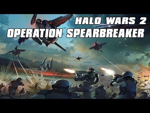 Halo Wars 2 Operation Spearbreaker Gatebreakers